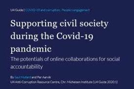 SUPPORTING CIVIL SOCIETY DURING THE COVID-19 PANDEMIC