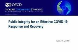 PUBLIC INTEGRITY FOR AN EFFECTIVE COVID - 19  RESPONSE AND RECOVERY