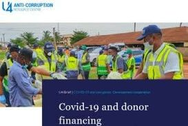 CORRUPTION IN THE TIME OF COVID-19 : A DOUBLE-THREATH FOR LOW INCOME COUNTRIES