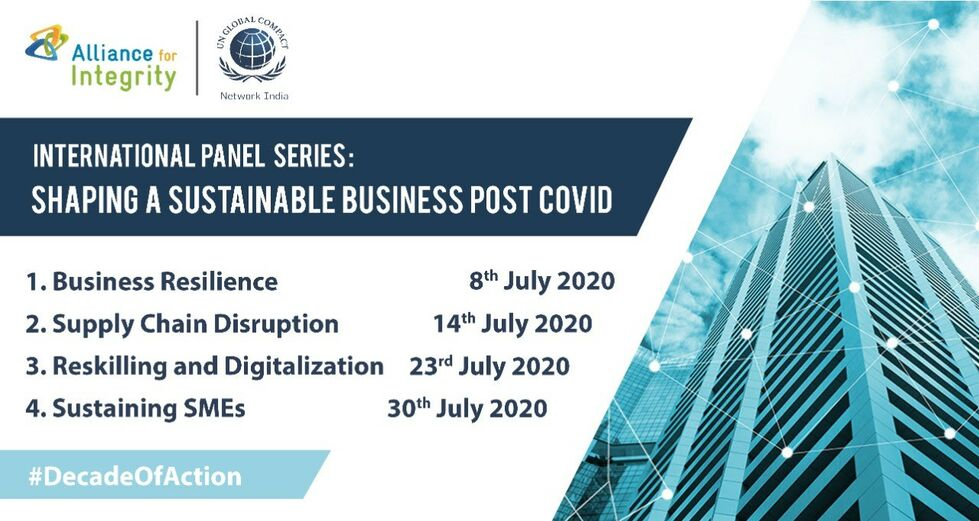 international panel series shaping a sustainable business post covid 19
