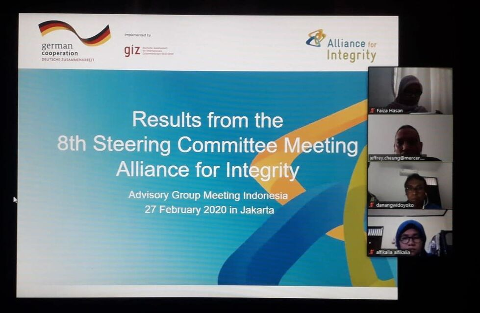 Advisory Group meeting Indonesia